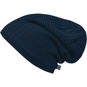 Czapka Brandit Beanie John Ajour Knitted Navy