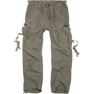 Spodnie Brandit M-65 Vintage Oliwkowe