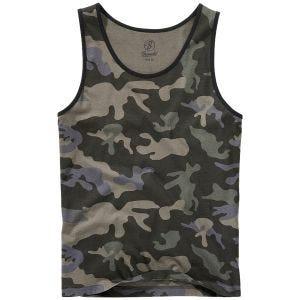 Koszulka bez Rękawów Brandit Dark Camo