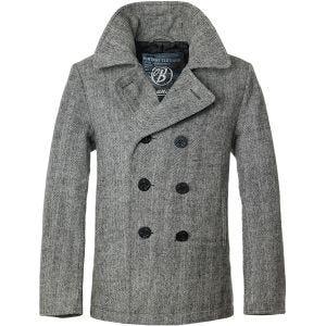 Płaszcz Brandit Pea Coat Antracyt