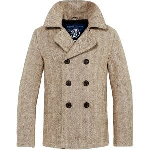 Płaszcz Brandit Pea Coat Beżowy