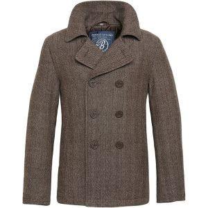 Płaszcz Brandit Pea Coat Brązowy