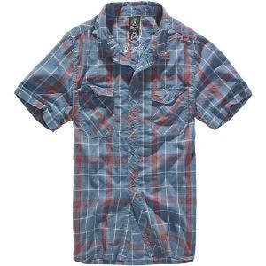 Koszula Brandit Roadstar Czerwono-Niebieska