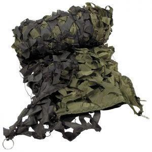 Siatka Maskująca MFH Camouflage Net 3x6m Oliwkowa