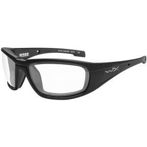 Okulary Taktyczne Wiley X WX Boss - Clear - Czarne