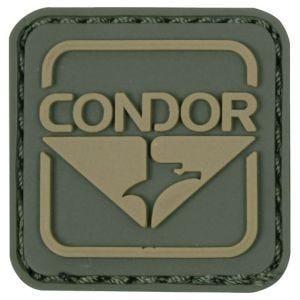 Naszywka Condor Emblem PVC Zielono-Brązowa