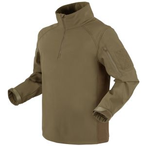 Kurtka Condor Patrol 1/4 Zip Softshell Tan