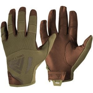 Rękawice Taktyczne Direct Action Hard Gloves Leather Coyote