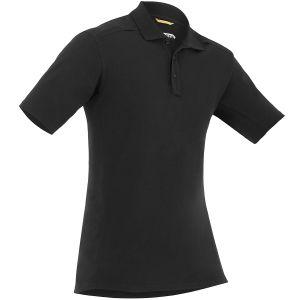 Koszula Męska First Tactical Cotton Polo z Kieszenią na Długopis Krótki Rękaw Czarna