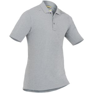 Koszula Męska First Tactical Cotton Polo z Kieszenią na Długopis Krótki Rękaw Heather Grey