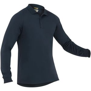 Koszulka Polo First Tactical Performance Długi Rękaw Midnight Navy