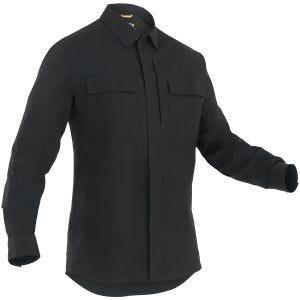 Koszula First Tactical Tactix BDU Długi Rękaw Czarna