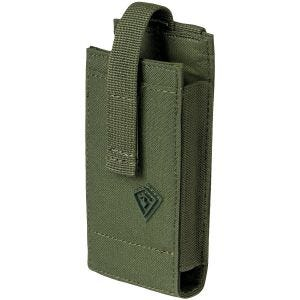 Ładownica na Telefon First Tactical Tactix Media Pouch Średnia OD Green