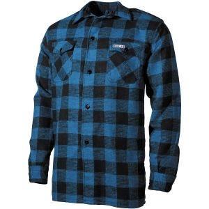 Koszula Fox Outdoor Lumberjack Niebiesko-Czarna w Kratę