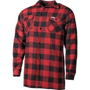 Koszula Fox Outdoor Lumberjack Czerwono-Czarna w Kratę