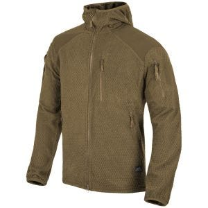 Polar Helikon Alpha Hoodie Jacket Grid Coyote