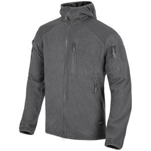 Polar Helikon Alpha Hoodie Jacket Grid Shadow Grey