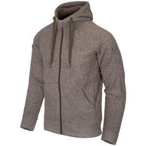 Bluza Helikon Covert Tactical Hoodie Full Zip Light Tan Melanż