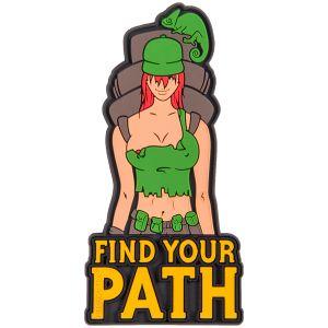 Naszywka Helikon Find Your Path Oliwkowa