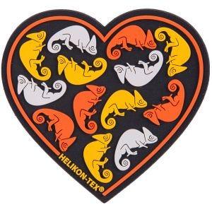 Naszywka Helikon Heart Czarna