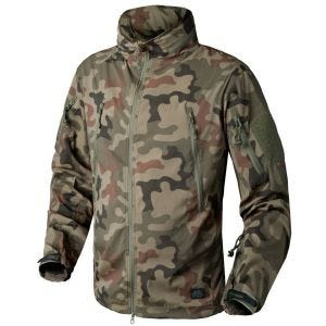 Kurtka Helikon Trooper Soft Shell PL Woodland