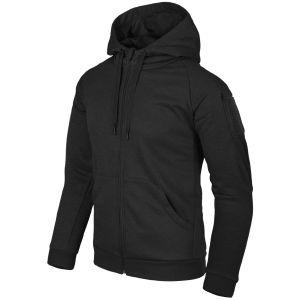 Bluza Helikon Urban Tactical Hoodie Full Zip Czarna