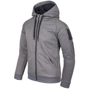 Bluza Helikon Urban Tactical Hoodie Full Zip Szary Melanż