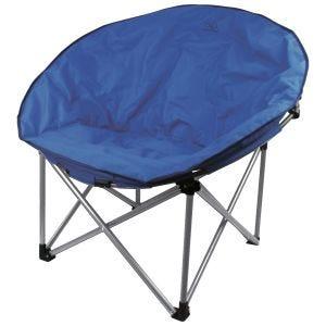 Krzesło Turystyczne Highlander Deluxe Moon Składane Niebieskie