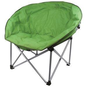 Krzesło Turystyczne Highlander Deluxe Moon Składane Zielone