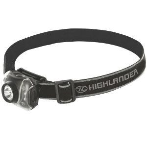 Latarka Czołowa Highlander Flame 3+4 LED Czarna