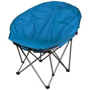Krzesło Turystyczne Highlander Moon Składane Denim Blue