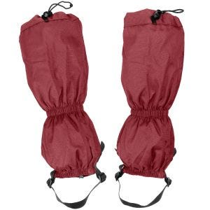 Stuptuty Highlander Walking Gaiters Czerwone
