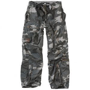 Spodnie Surplus Infantry Cargo Night Camo