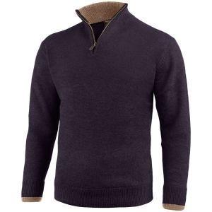 Sweter Jack Pyke Ashcombe Zip Neck Navy