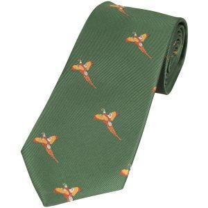 Krawat Jack Pyke Pheasant Zielony
