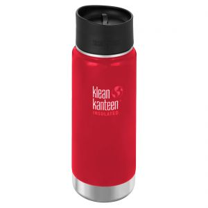 Termos Klean Kanteen Wide 473ml Cafe Cap 2.0 Mineral Red