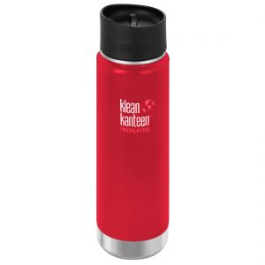 Termos Klean Kanteen Wide 592ml Cafe Cap 2.0 Mineral Red