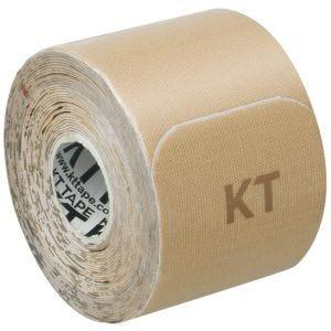 "Taśma Sportowa KT Tape Consumer Cotton Gentle Precut 10"" Beżowa"