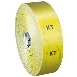 Taśma Sportowa KT Tape Jumbo Synthetic Pro Precut Solar Yellow