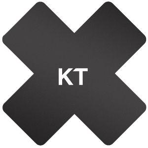 Taśma Sportowa KT Tape Pro-X Synthetic Patch 15 szt. Czarna