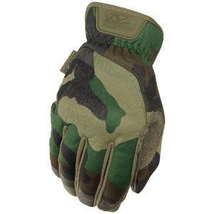 Rękawice Taktyczne Mechanix Wear FastFit Woodland