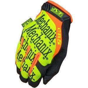 Rękawice Taktyczne Mechanix Wear CR5 Original Hi-Viz Żółte