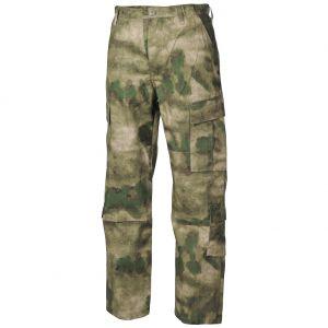 Spodnie MFH ACU Combat Ripstop HDT Camo FG