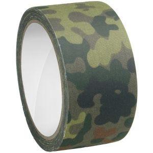 Taśma Maskująca MFH Fabric Tape 5cm x 10m Flecktarn