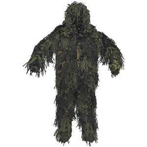 Strój Maskujący MFH Ghillie Jackal 3D Body System Woodland