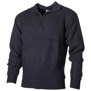 Sweter Akrylowy MFH Navy Navy Blue