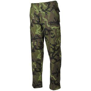 Spodnie MFH BDU Combat Ripstop Czech Woodland