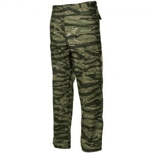 Spodnie MFH BDU Combat Ripstop Tiger Stripe