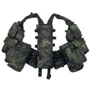 Kamizelka Taktyczna MFH South African Assault Czech Woodland