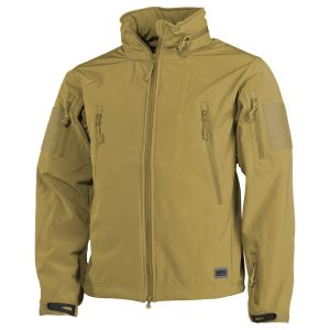 Kurtka MFH Scorpion Soft Shell Coyote Tan